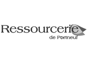 Logo Ressourcerie de Portneuf | Gravi-T Communication