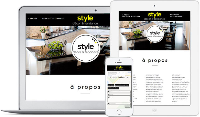 Site Web Responsive | Gravi-T Communication