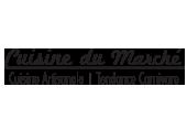 Logo Cuisine du Marché | Gravi-T Communication