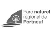Logo Parc Naturel régional de Portneuf | Gravi-T Communication