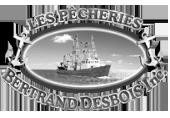 Logo Les Pêcheries Bertrand Desbois | Gravi-T Communication